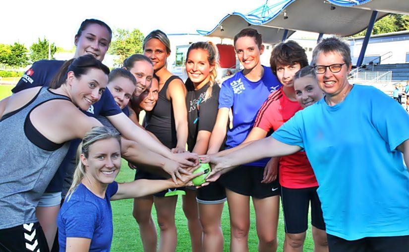 Trainingsauftakt von SV Pädagogik mit neuer Trainerin in neuer Liga
